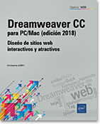 Dreamweaver CC para PC/Mac (edición 2018), sitio web, html, hoja de estilos, css, Quick Tag Editor, Design Notes, Extension Manager, Activos, Formulario, Homesite, Dream, dreamwever