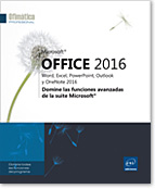 Word2016 - Excel2016 - Outlook2016 - Office 2016 - Office2016 - serie ofimática - Office 16 - Office16 - perfeccionamiento